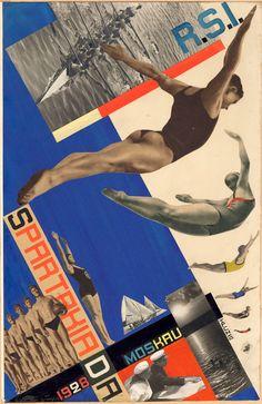 "thesobsister: "" Gustav Klutsis (Густав Клуцис; Gustavs Klucis)), photomontage """