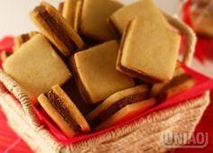 A receita de biscoito tipo passatempo rende 40 biscoitos (e dá para congelar)…