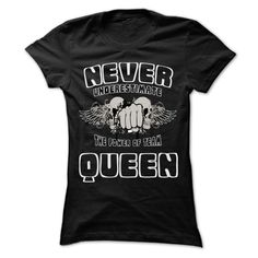 (Tshirt Design) Never Underestimate The Power Of Team QUEEN 99 Cool Team Shirt…