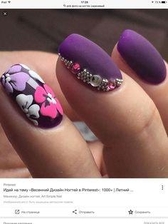Modele Unghii 2019 19 Modele Unghii In 2019 Purple Nail Art