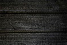 Bois brulé - Noir de noir - Douglas