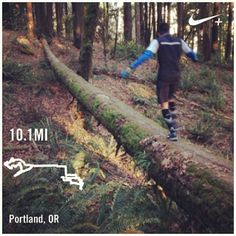 Roads? Where we are going, we don't need roads.... | Nike Plus Running
