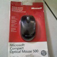 Microsoft Compact Optical Mouse 500 ( Black )