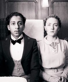Tony Revolori and Saoirse Ronan as Zero and Agatha (The Grand Budapest Hotel, 2013)