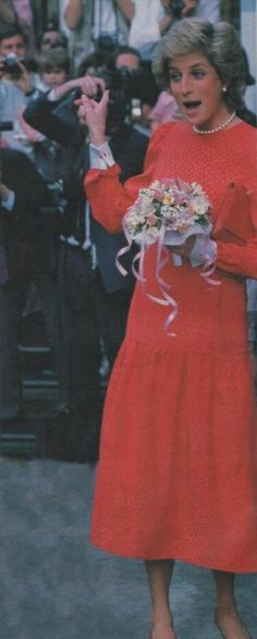 16 May 1988 Princess Diana Arrives At National Children's Bureau In London And…