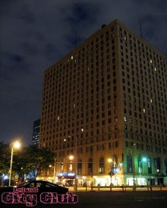 City Club   Industrial Nightclub in the LeLand Hotel Building   400 Bagley St, Downtown Detroit