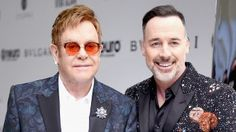 Elton John & David Furnish Rock Out of This World Blazers at EJAF ...