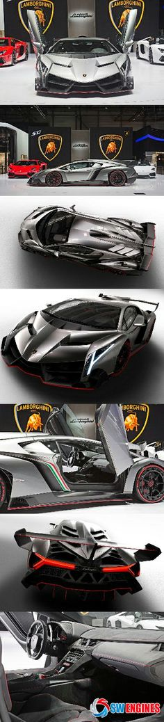 #SWEngines Check out the NEW Lambo Veneno