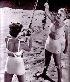 Various advertising images   for Jantzen swimwear 1946