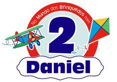 B-DAY Daniel Trabalho: arte para painel Ano: 2015 Inspiração: brinquedos