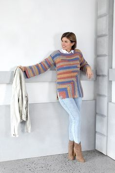 Must-Have Crochet Minted TunicFind all your favorite Red Heart crochet yarns and colors you love. Browse our large inventory of free crochet and knitting patterns!Cold Weather Style Look Book Crochet Tunic Pattern, Crochet Poncho, Crochet Cardigan, Crochet Scarves, Crochet Clothes, Knit Crochet, Crochet Hats, Free Crochet, Crochet Patterns