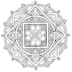 Mandala 2, July 2013 by Artwyrd.deviantart.com on @DeviantArt