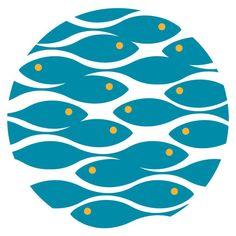 Logo for National Aquarium in Baltimore Chermayeff & Geismar & Haviv Logo for Lisbon Aquarium. Swimming upstream idea