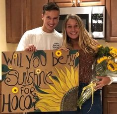 Proposals Ideas sunflowers Proposals I … – New Ideas Source by More from my site Creative Prom Proposal Ideas for Guys – Cute Promposal Proposals Ideas food Proposals Ideas so cute 27 Seriously Awes…[Holidays and … Cute Homecoming Proposals, Formal Proposals, Homecoming Posters, Homecoming Signs, Prom Poster Ideas, High School Dance, School Dances, Prom Couples, Cute Couples