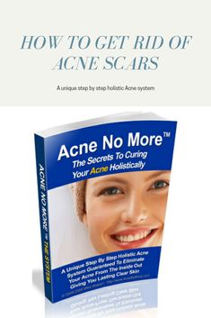 A unique step by step holistic Acne system  guaranteed to eliminate your acne from the inside out giving you lasting clear skin  #best acne remedies #cure for acne #acne skin solutions #How to control acne #overnight acne treatment #best acne treatment #cure acne overnight #organic acne treatment Clear Acne Overnight, How To Get Rid Of Acne, Acne Remedies, Acne Skin, Acne Treatment, Clear Skin, Organic, Unique