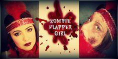 Zombie Flapper Girl -  Maquillaje años 20´s al estilo zombie - Eliana López