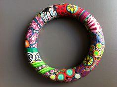 Emsig Kunsthandwerk - bangle.  Again, love the colors!