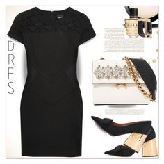 """""""LBD"""" by dragananovcic ❤ liked on Polyvore featuring MAC Cosmetics, Marni and Just Cavalli"""