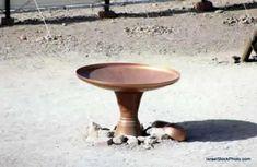 a pia de bronze