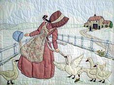 Лоскутное шитье и аппликация. Журнал Bonnet Girls (13) (306x228, 106Kb)