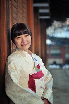 A girl with Hanbok, #Deoksugung Palace, Seoul, Korea