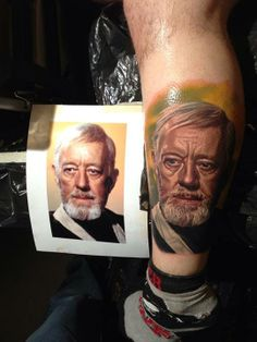 #StarWars Obi Wan Kanobi #Tattoo By Nikko Hurtado