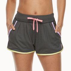 Women's FILA Sport® Knit Shorts, Size: Medium, Oxford