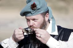 As well as handfasting cords, we also had a quaich. The other half had a hipflask of whisky hidden in his sporran!