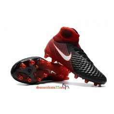 premium selection cff7c fb723 Buy Nike Magista Obra II AG Fire Pack Black   University Red   White soccer  cleats