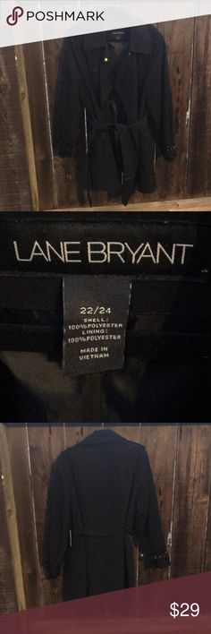 Trench Coat Lane Bryant classic black trench coat Lane Bryant Jackets & Coats Trench Coats