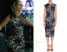 Felicity: Bow Neck Floral Dress – Arrow Fashion Blog