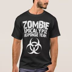 CDC Zombie Apocalypse Response Team T-Shirt - tap, personalize, buy right now! Cdc Zombie, Zombie T Shirt, Team T Shirts, Zombie Apocalypse, Tshirt Colors, Drums, Bass, Shop Now, Fitness Models