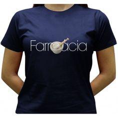 Camiseta Farmácia - Baby-look