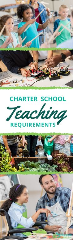 Public charter schools offer opportunities to find a school that fits your personal teaching style. Learn if there are different requirements for charter school teachers than for a private or public school employee. Charter Schools, Teaching Style, We Are The Ones, Educational Leadership, School Teacher, Public School, Classroom, Reading, Class Room