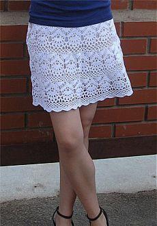 Юбка крючком летняя схема. Белая юбка вязаная крючком | Все о рукоделии: схемы, мастер классы, идеи на сайте labhousehold.com
