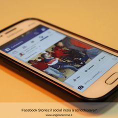 Facebook Stories:il social inizia a scricchiolare?   Angelo Cerrone