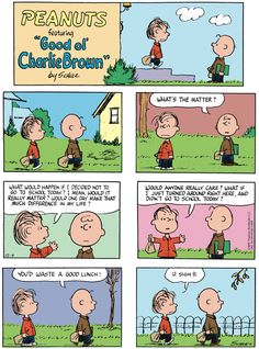 Peanuts by Charles Schulz for December 04, 2016 - GoComics Snoopy Cartoon, Snoopy Comics, Peanuts Cartoon, Peanuts Gang, Charlie Brown Comics, Charlie Brown Quotes, Snoopy Love, Snoopy And Woodstock, Funny Cartoons