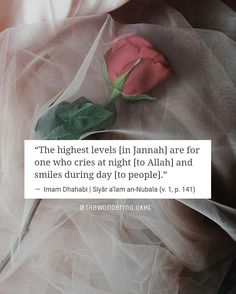 Hand your problems to Allah and then smile, knowing that He is in control. ✨