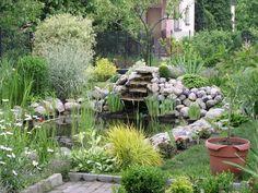backyard ponds | Backyard, Japanese Backyard Landscaping Ponds: Natural Backyard ...