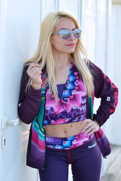 Desigual sport collection! Today on my blog <3 www.it-girl.it #fashion #look #fitness #desigual #fitness #fitspo #blondie #blonde