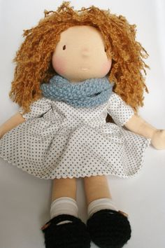 Emily - Waldorf doll, Steiner doll, natural doll
