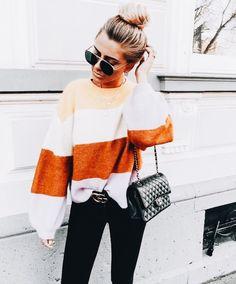 Stylish And Casual Fall Outfit Ideas For Womens Fashion Mode, Look Fashion, Fashion Outfits, Womens Fashion, Fashion Trends, Fall Fashion, Fashion Ideas, Fashion 2018, Feminine Fashion