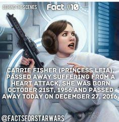 Rest in peace ,princess#starwars