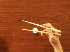 HOW TO USE CHOPSTICKS -       Like skiing and speaking a foreign language, chopstick use is a skill ideally acquired in childhood. But with a little perseverance, adults tired of feeling boorish in Asian restaurants can become adept.