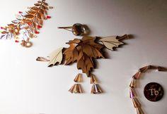 di legno e di carta, di swarovki e di cristalli, di fantasia e buongusto --- wood and paper, and swarovki crystals, imagination and good taste