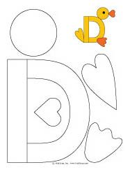 D is for Duck Craft and Fingerplay | KidsSoup