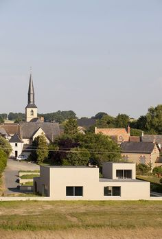 Boidot & Robin architects . Community hall . Saint Pierre des Bois (2)