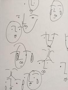 face illustration line art Art And Illustration, Flower Illustrations, Kunst Inspo, Art Inspo, Art Sketches, Art Drawings, Arte Sketchbook, Wow Art, Art Hoe