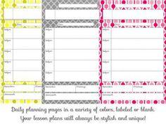 Editable Back to School Planner (Teacher Chic)