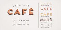 Frontage - layered type system | Designer: Juri Zaech